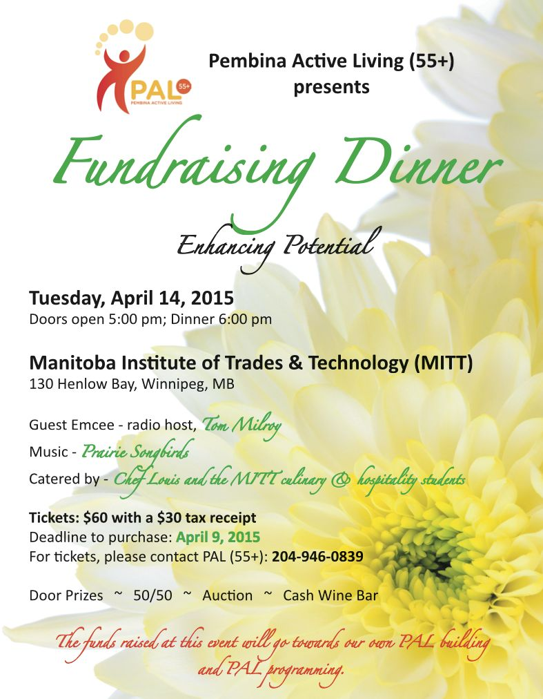 PAL Fund Raiser Dinner